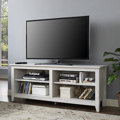 Sunbury 58 TV Stand with Optional Fireplace Color: Traditional Brown, Fireplace Included: No
