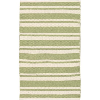 Coralie Blue/Green/Sapphire Area Rug Rug Size: 23 x 39