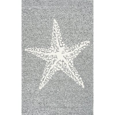 Mallard Gray Indoor/Outdoor Area Rug Rug Size: 5 x 8