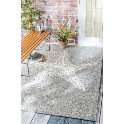 Mallard Gray Indoor/Outdoor Area Rug Rug Size: Rectangle 9 x 12