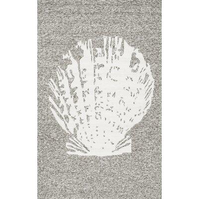 Newland Gray Area Rug Rug Size: 8 x 10