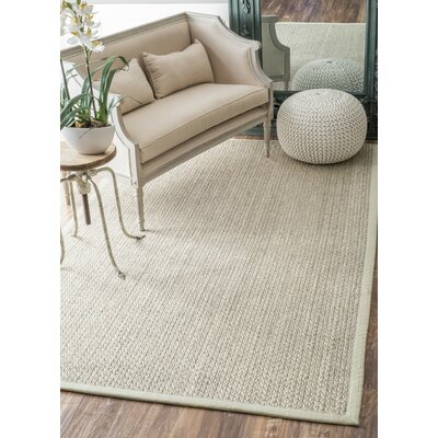 Metochi Natural Area Rug Rug Size: Rectangle 5 x 8