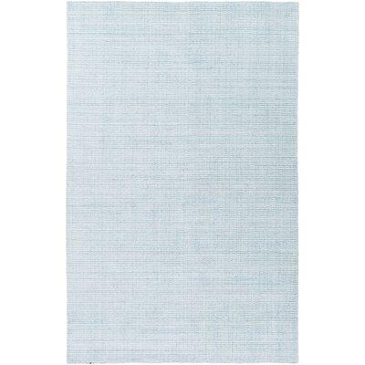 East Palatka Hand-Loomed Aqua Area Rug Rug size: 8 x 10
