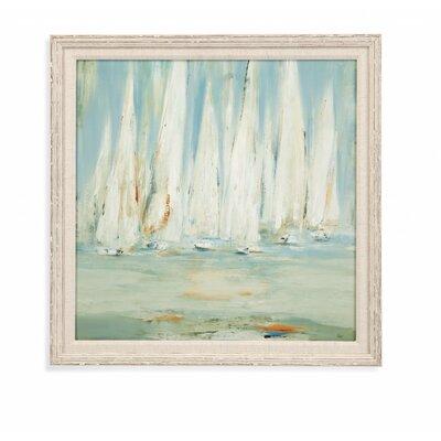 Regatta II Framed Painting Print SEHO8689