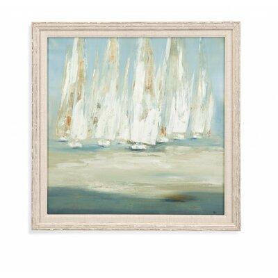 Regatta III Framed Painting Print SEHO8690 33119668