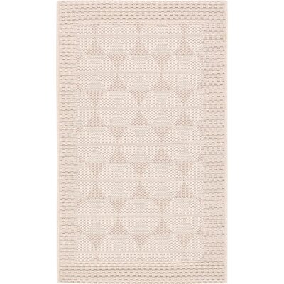 Shirley Beige Outdoor Area Rug Rug Size: 2 x 33