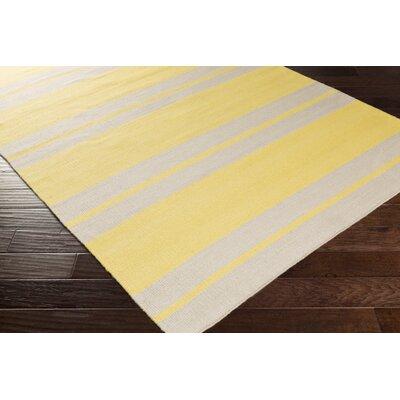 Makrasyka Gold Indoor/Outdoor Area Rug Rug Size: 4 x 6