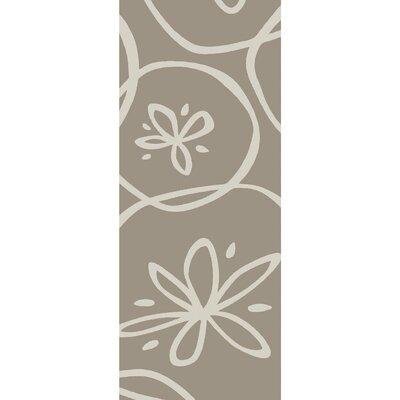 Charlestown Hand-Tufted Light Gray/Ivory Area Rug Rug size: Runner 26 x 8