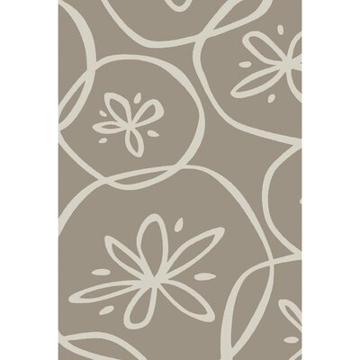 Charlestown Hand-Tufted Light Gray/Ivory Area Rug Rug size: 5 x 8