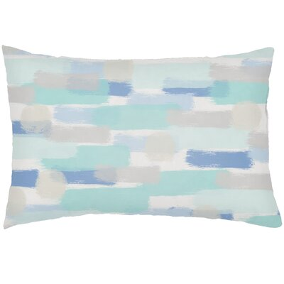 Chavers Indoor/Outdoor Lumbar Pillow Color: Blue