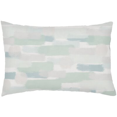 Chavers Indoor/Outdoor Lumbar Pillow Color: Green
