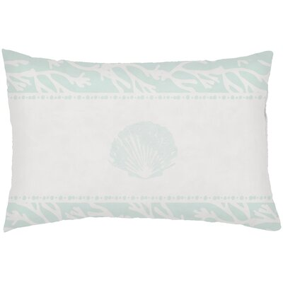 Chiaramonte Indoor/Outdoor Shell Lumbar Pillow