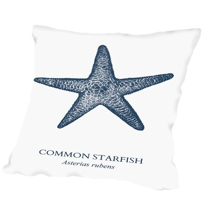 Killingworth Starfish Sea Outdoor Throw Pillow Size: 16 H x 16 W x 2 D