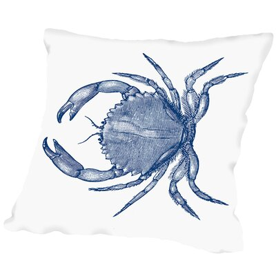 Attleboro Crab Quad 1 Outdoor Throw Pillow Size: 20 H x 20 W x 2 D