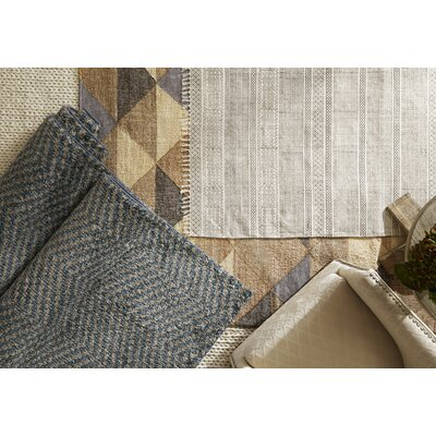 Pomfret Blue/Gray Area Rug Rug Size: Rectangle 8 x 10