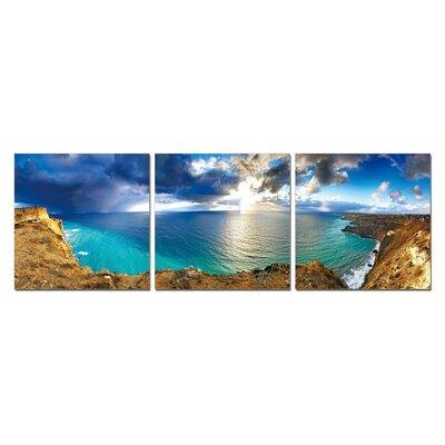 'Bay' 3 Piece Photographic Print Set