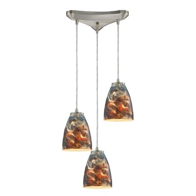 Creswell 3-Light Kitchen Island Pendant