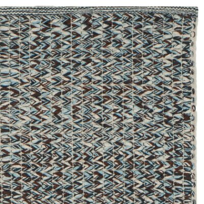 Alberta Hand-Woven Gray Area Rug Rug Size: Rectangle 8 x 10