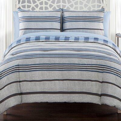 Chana Reversible Comforter Set Size: Twin
