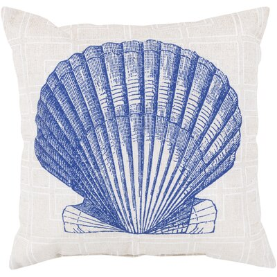 Chaucer Shell of the Sea Outdoor Throw Pillow Size: 18 H x 18 W x 4 D