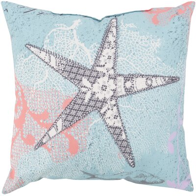Chaucer Sweet Starfish Outdoor Throw Pillow Size: 20 H x 20 W x 4 D