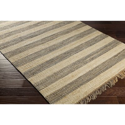 Grant Hand-Woven Gray/Neutral Area Rug Rug Size: 4 x 6
