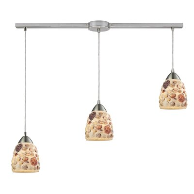 Merganser 3-Light Kitchen Island Pendant