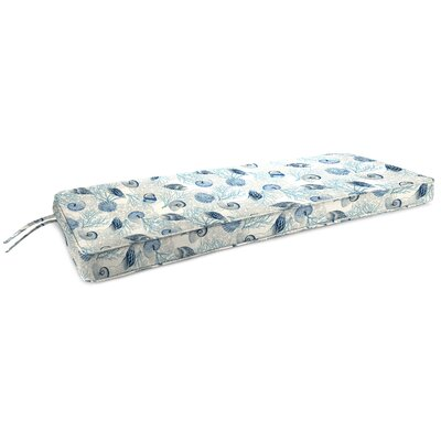 Indoor Bench Cushion Fabric: Shall We Dance Surf