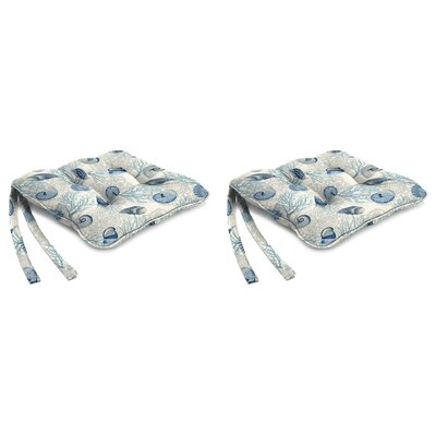 Indoor Chair Cushion Fabric: Shall We Dance Surf