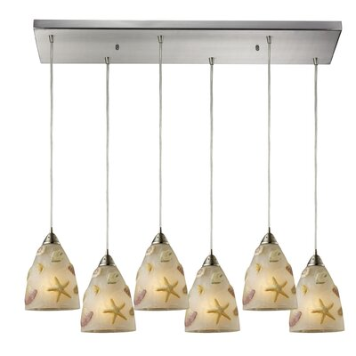 Northway 6-Light Kitchen Island Pendant