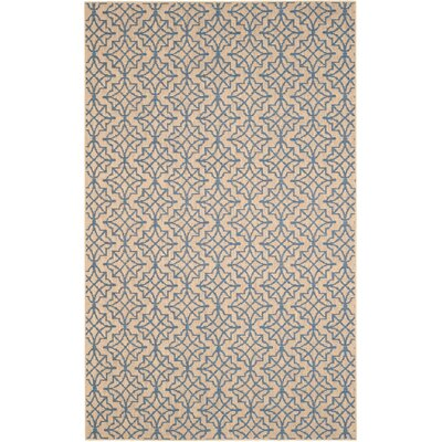 Allegra Hand-Woven Trellis Area Rug Rug Size: Rectangle 5 x 8