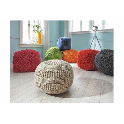 Macmillan Pouf Upholstery: Charcoal