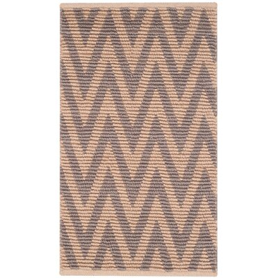 Arria Hand-Woven Natural/Gray Area Rug