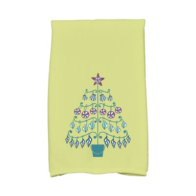 Lavinia Beach Tree Hand Towel Color: Green