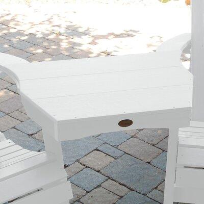 Amiya Side table Finish: White