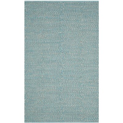 Alberta Hand-Woven Blue Area Rug