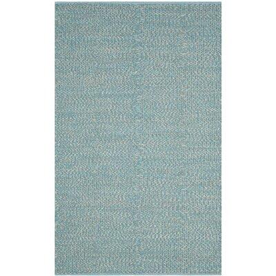 Alberta Hand-Woven Blue Area Rug