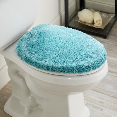 Ashmoore Spa Toilet Lid Cover Color: Cameo, Size: 17.4 W x 21.25  L