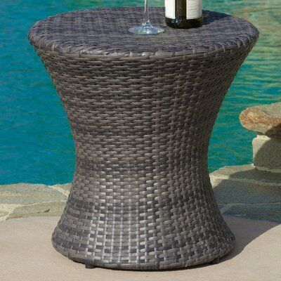 Grayling Wicker Side Table Finish: Grey
