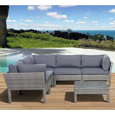 Aquia Creek 6 Piece Deep Seating Group with Cushions