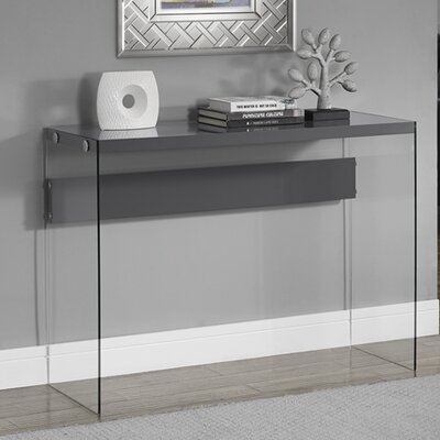Wiscasset Console Table Finish: Grey