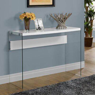 Wiscasset Console Table Finish: White