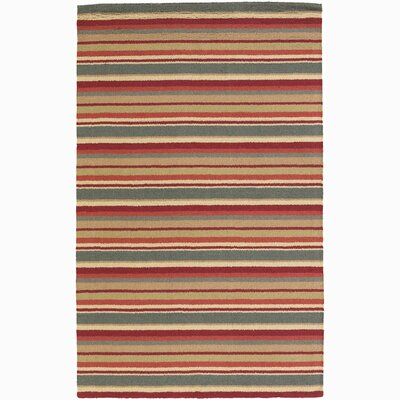 Delores Stripes Area Rug Rug Size: 2 x 3