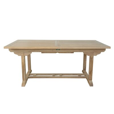 Information about Rectangular Extension Table Product Photo
