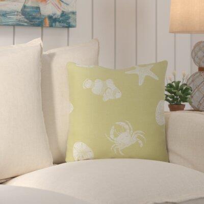 Santa Rosa Throw Pillow Color: Lime