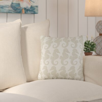 Heatherfield Cotton Throw Pillow Color: Neutral