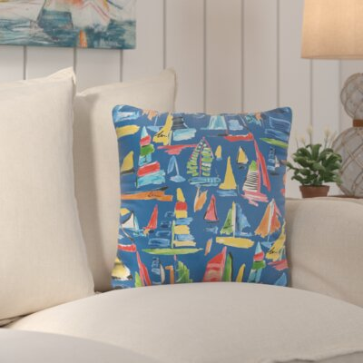 Wallon Square Indoor/Outdoor Throw Pillow Size: 22 H x 22 W
