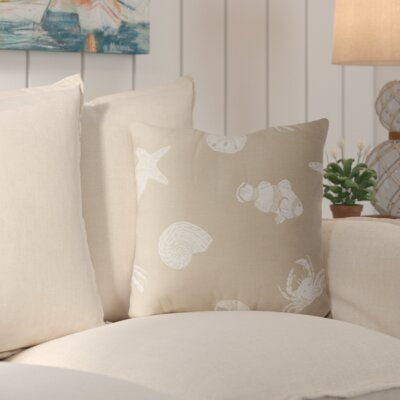 Santa Rosa Throw Pillow Color: Driftwood