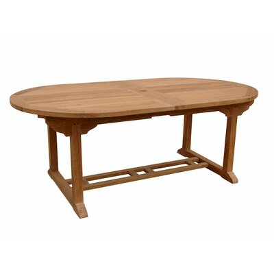 Farnam Oval Extension Dining Table with Double Extensions