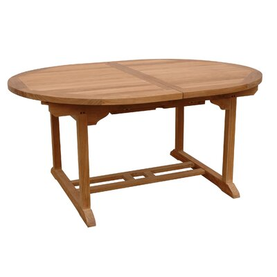 Milena 87 Oval Extension Dining Table